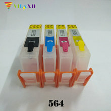 For HP 564 Refillable ink cartridge for Deskjet 5510 3070a 3520 3522 4622 5520 6510 6520 7510 C510a B209a B210a C309g