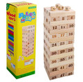1 lote = 48 unids Tumbling torre juego Tumbling Stacking Jenga torre envío gratuito a nivel mundial