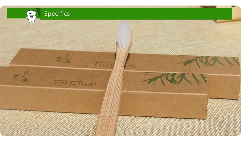 natural bambu handl cuidado cerda macia eco
