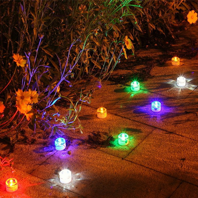 christmas decoration led solar light outdoor waterproof led solar garden lights buried lamp the candle mulitcolor free shipping in solar lamps from lights - Solar Garden Christmas Decorations