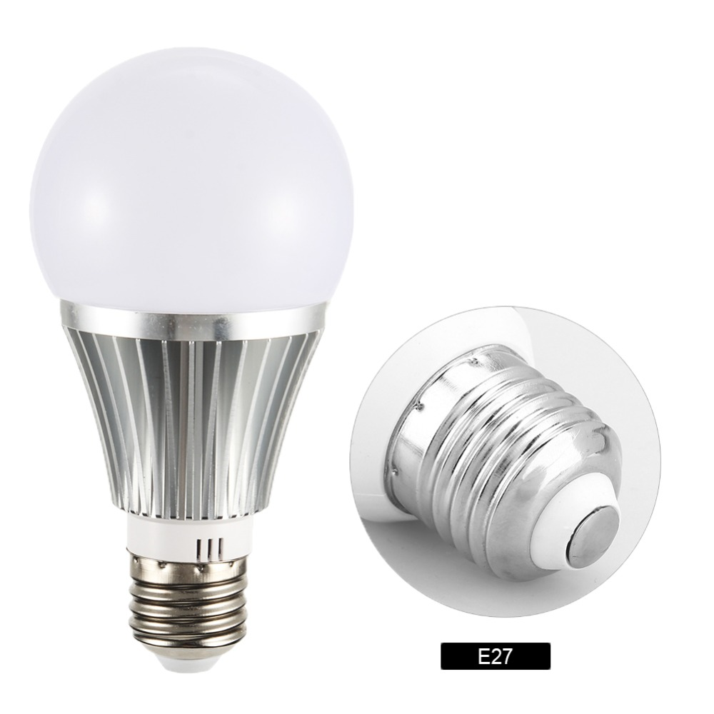Smart WiFi Light Bulb 10W RGBW Light Bulb Lamps Wake Up Lights Compatible With Alexa Echo Google Home Assistance WIFI Bulb in LED Bulbs Tubes from Lights Lighting