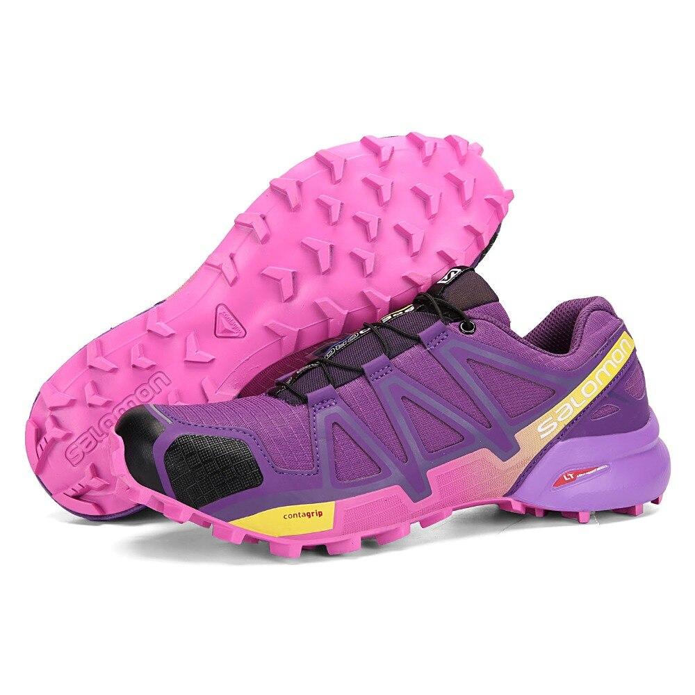 ▻Salomon Speed Cross 4 CS III Women Running Shoes Original