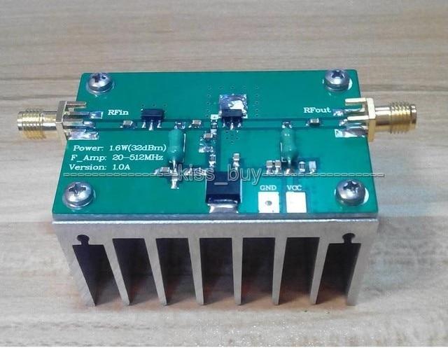 1mhz to 512mhz 1 6w hf fm vhf uhf rf radio broadband power rh aliexpress com