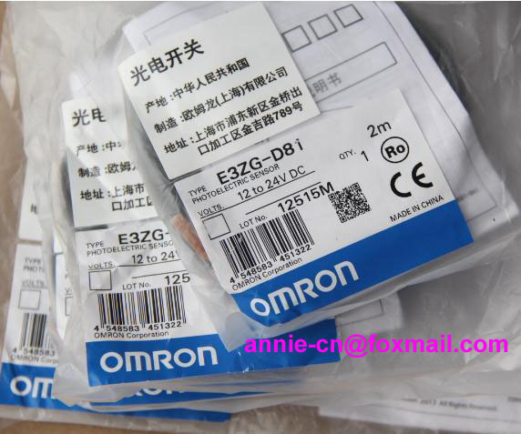 ФОТО New and original E3ZG-D81, E3Z-R81  OMRON  Photoelectric switch  2M   12-24VDC
