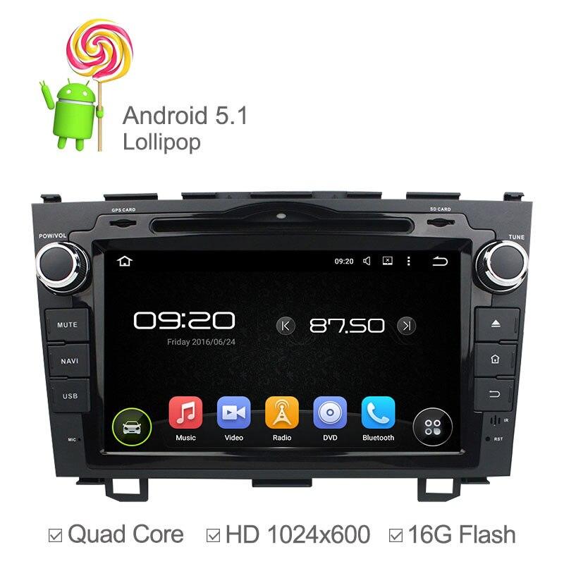 Quad core android 5.1 auto dvd-player für honda crv 2006-2011 mit GPS-Navigation...