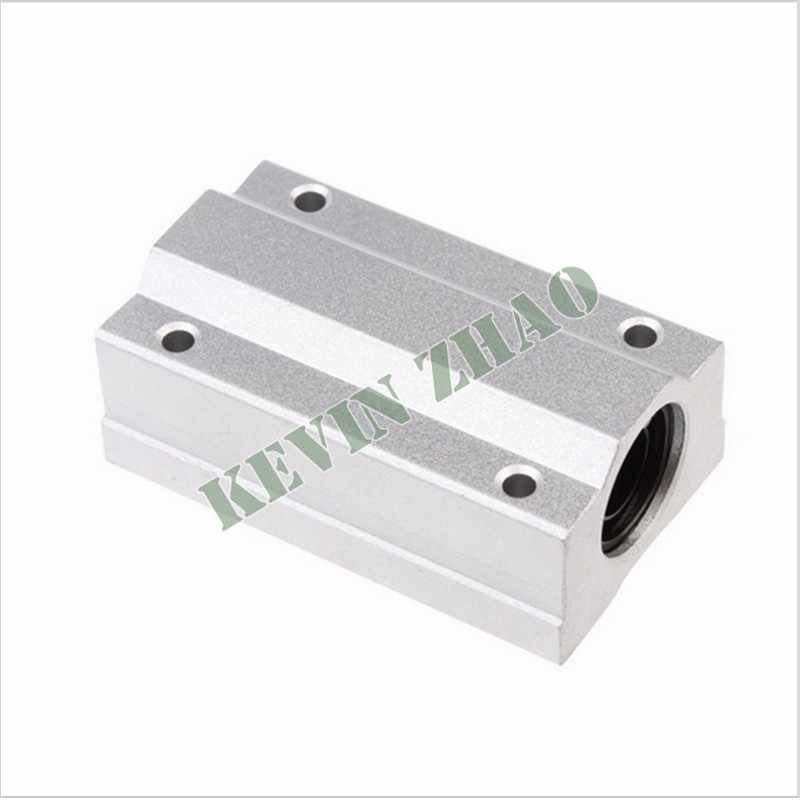 1pcs SC16LUU SCS16LUU Linear motion ball bearings slide block bushing for 16mm linear shaft guide rail CNC parts