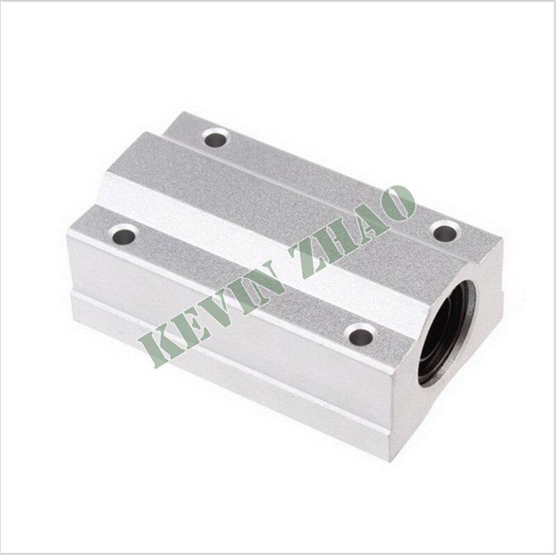 1Pcs SCS16LUU 16mm Aluminum Long Rail Linear Motion Ball Bearing Slide Bushing