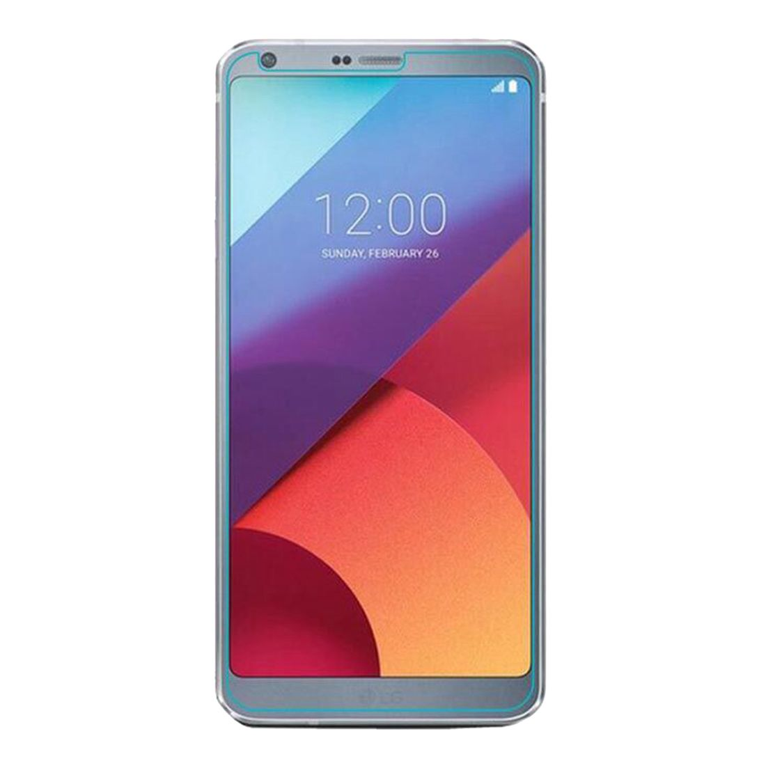 HFES New 3pcs Tempered Glass Screen Protector, Anti-Scratch, Anti-Fingerprint, Bubble Free for LG G6