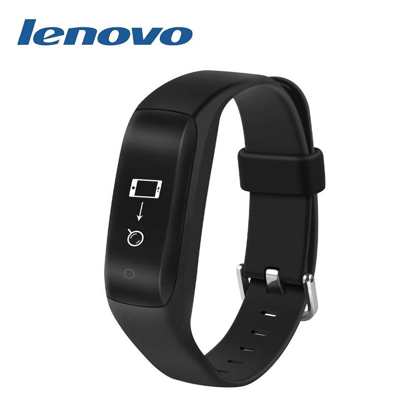 Lenovo HW02 Smart Wristband 3D G-Sensor Bluetooth 4.2 Heart Rate Monitor Pedometer Fitness Tracker for Android iOS pk mi band s3 bluetooth waterproof smart watch wristband fashion women ladies heart rate monitor fitness tracker smartwatch for android ios