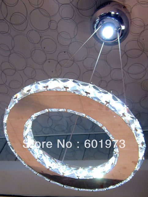 Free shipping 2012 New Design Hot Sell  Modern LED Crystal Lights Energy Saving Pendant Lamp Crystal Chandelier  9209-D12""