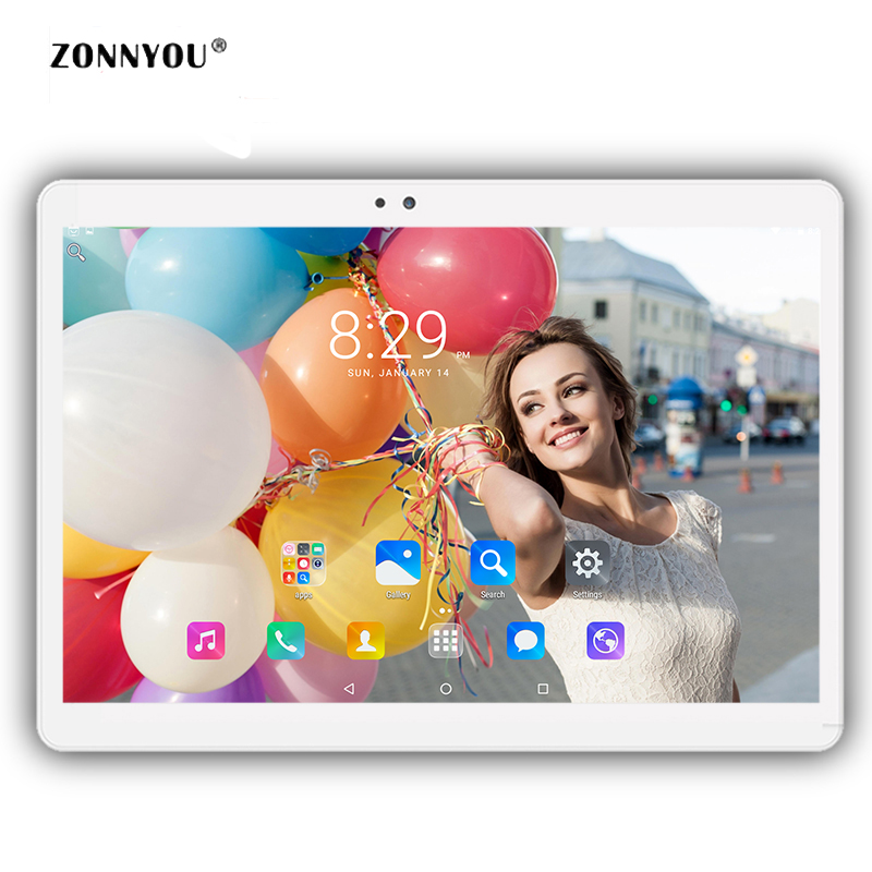 10.1 inch Tablet PC Original 3G Phone Call Dual SIM Card Android 6.0 Octa Core 4GB/32GB Wi-fi Bluetooth GPS Tablets PC