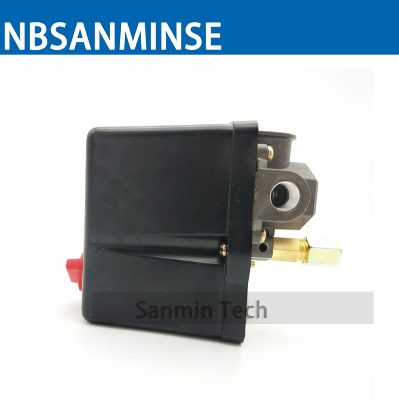 NBSANMINSE SMF18 1/4 3/8 1/2 NPT G Air Compressor And Pump Pressure Switch 3 - Phase Pressure Switches High Quality spa hot tub bath pump blower air switch for china lx pump air switch
