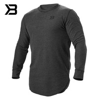 New Men's Running T shirt Racing Soccer Jerseys Quick Dry long sleeve Breathable Gym shirts outdoor exercise workout