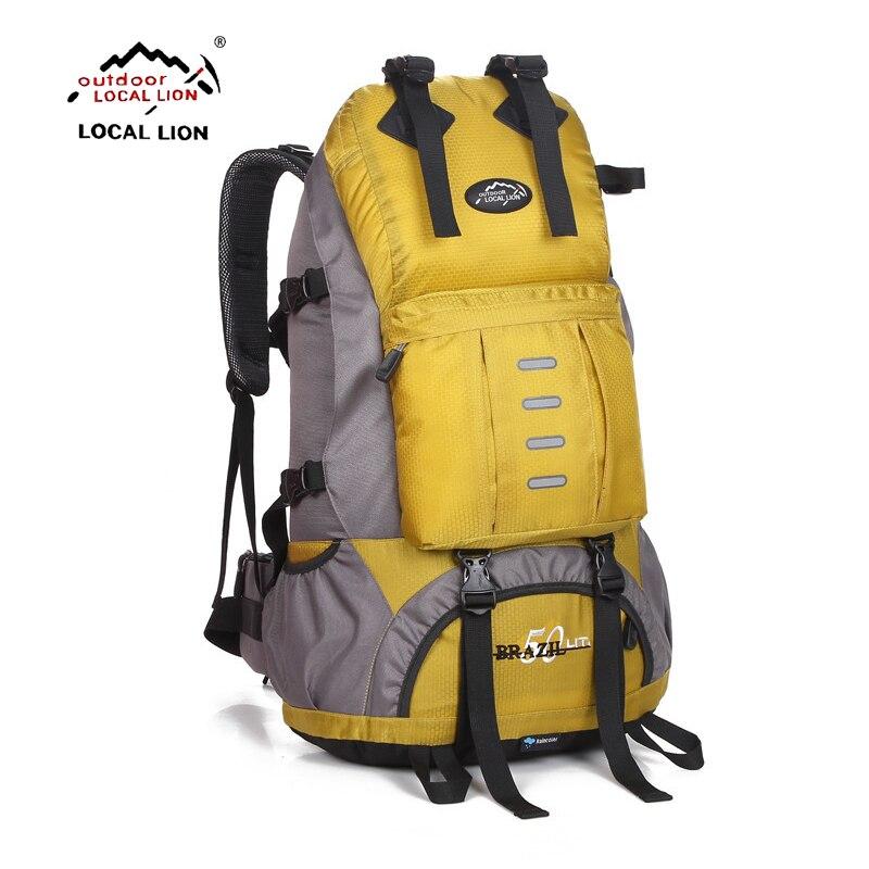 Médaillon 50L sac à dos extérieur Camping sac étanche alpinisme randonnée sacs à dos Molle sac de Sport escalade sac à dos