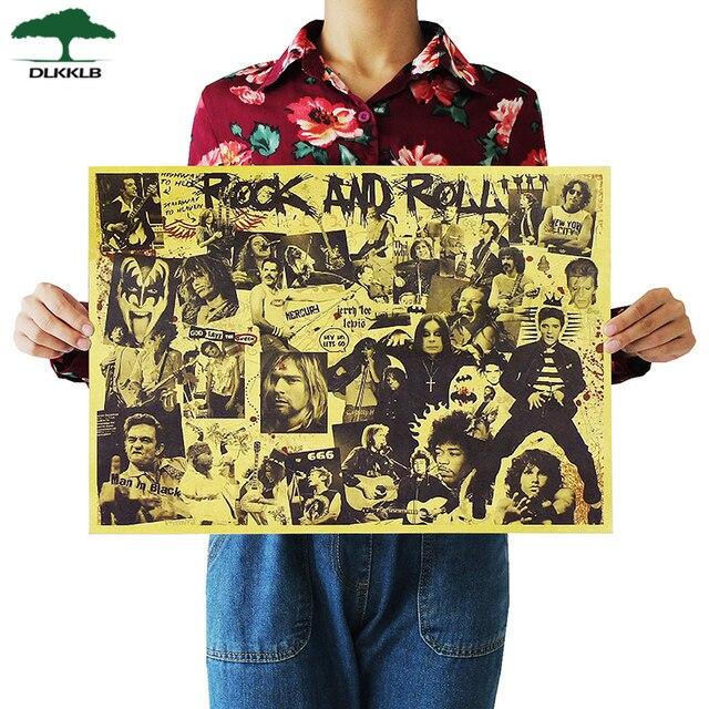 Nostalgic Rock Band Posters 8