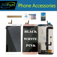 1PC/Lot High Quality For Cubot Note S LCD Display And Touch Screen Sensor Glass Assembly White/Black/Gold/Rose Gold With Kits