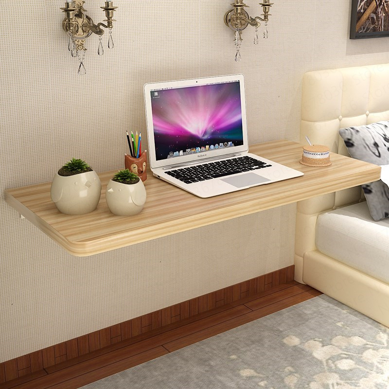 Household Folding Table Simple Modern Dining Table Wall Table Hanging Computer Table Wall Study Table Simple Laptop Stand(China)