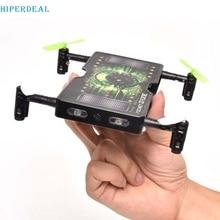 Good Sale 1325 Folding Pocket Mini drone Selfie 2.0MP HD Camera 2.4G 4CH RC Quadcopter Feb 10