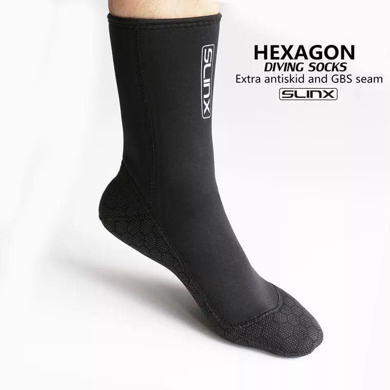 Brand 3mm Neoprene Surf Diving Socks Swimming Boots Profession Scuba Swimwear Wetsuit Anti Scratches Warmer Snorkeling Socks