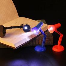 بيت الدمية مصباح طاولة صغير دمية 1:6 LED مصباح الطاولة الأثاث اللعب لطيف سطح المكتب مصغرة الديكور الملحقات #20