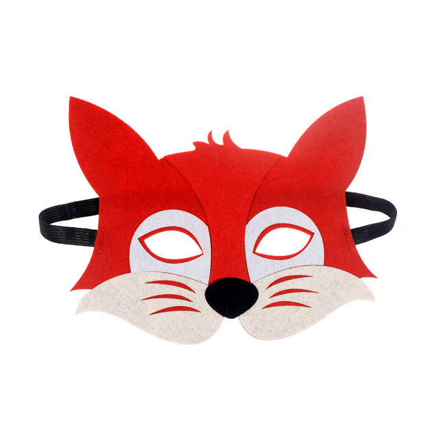 Mask Super Hero Wolf Rabbit Animals Face Giraffe Tiger Mask Kids Children Birthday Costume DIY Masquerade Eye Mask Cosplay Xmas 4