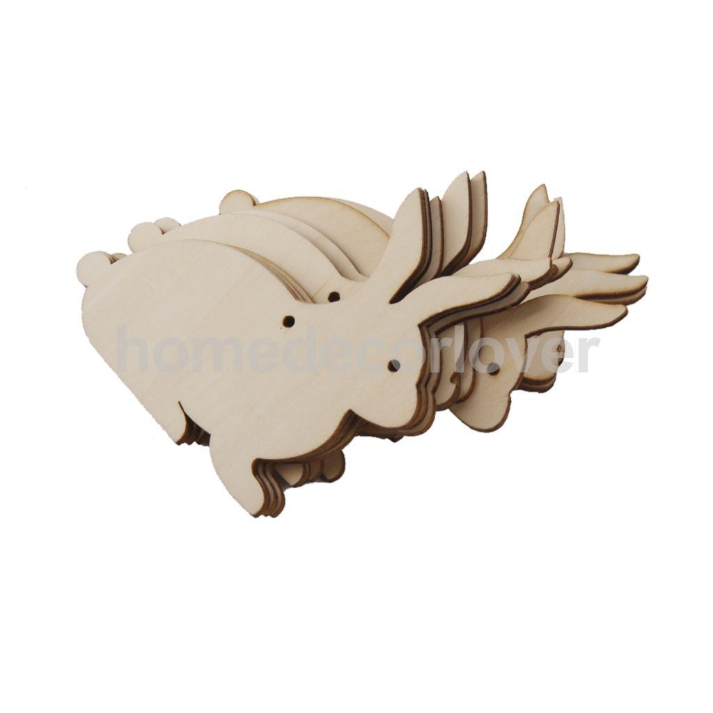 Forma de unicornio Decoración espacios en blanco de forma artesanal Corte Láser 3mm Mdf