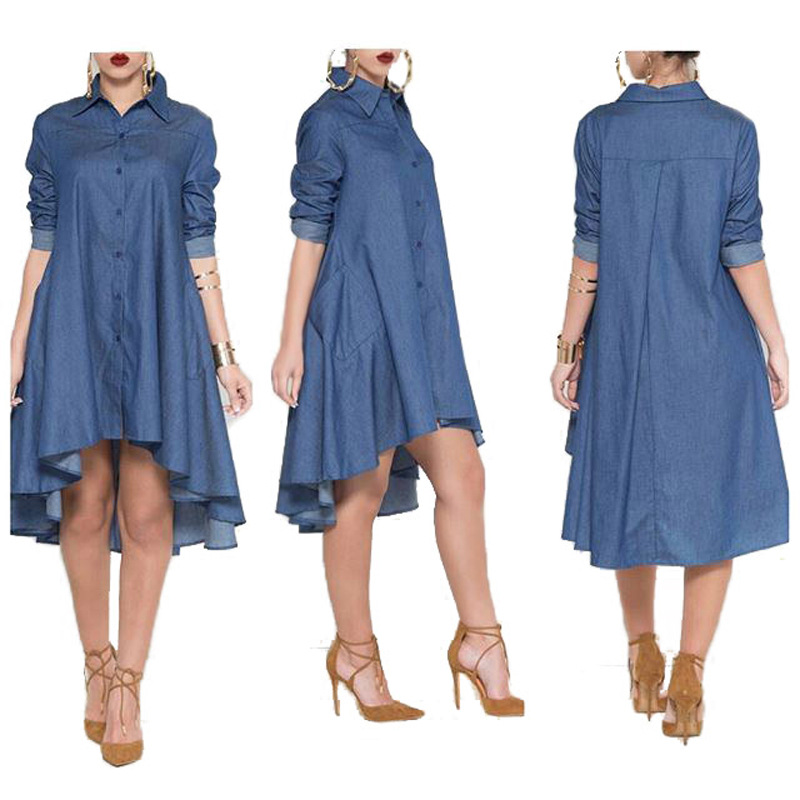 38dd861ee7854 Detail Feedback Questions about new spring/autumn women's dresses denim long  shirts maternity dresses pregnancy dresses maternity clothing 16823 on ...