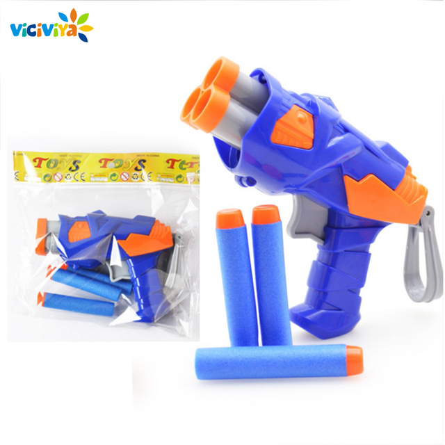 Viciviya Kids Toys Soft EVA Bullet Toy Gun For NERF N-Strike Bullet Darts Round Head Blasters EP Children Educational Toys