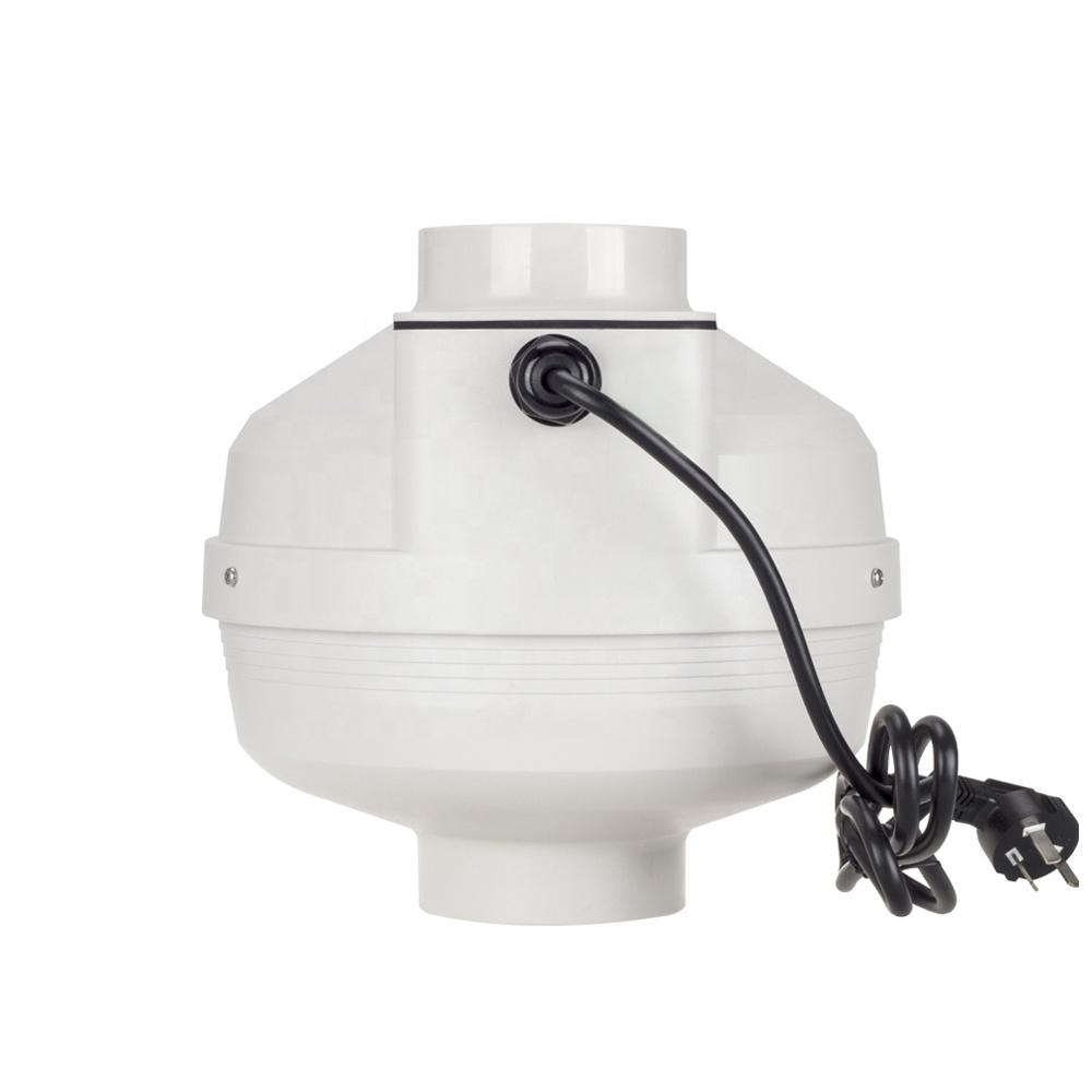 4 inline duct fan centrifugal fan turbo silent high pressure bathroom waterproof exhaust ventilation fan blower 220V