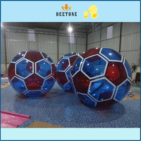 The factory sells 2Mpvc adult/child inflatable water sports toys, inflatable water walking balls and soccer balls