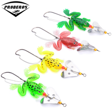 4 Color Hot frog lures Fishing lures Arriva 4pcs/lot fishing bait 6.2g soft lures soft bait saltwater lures fishing tackle