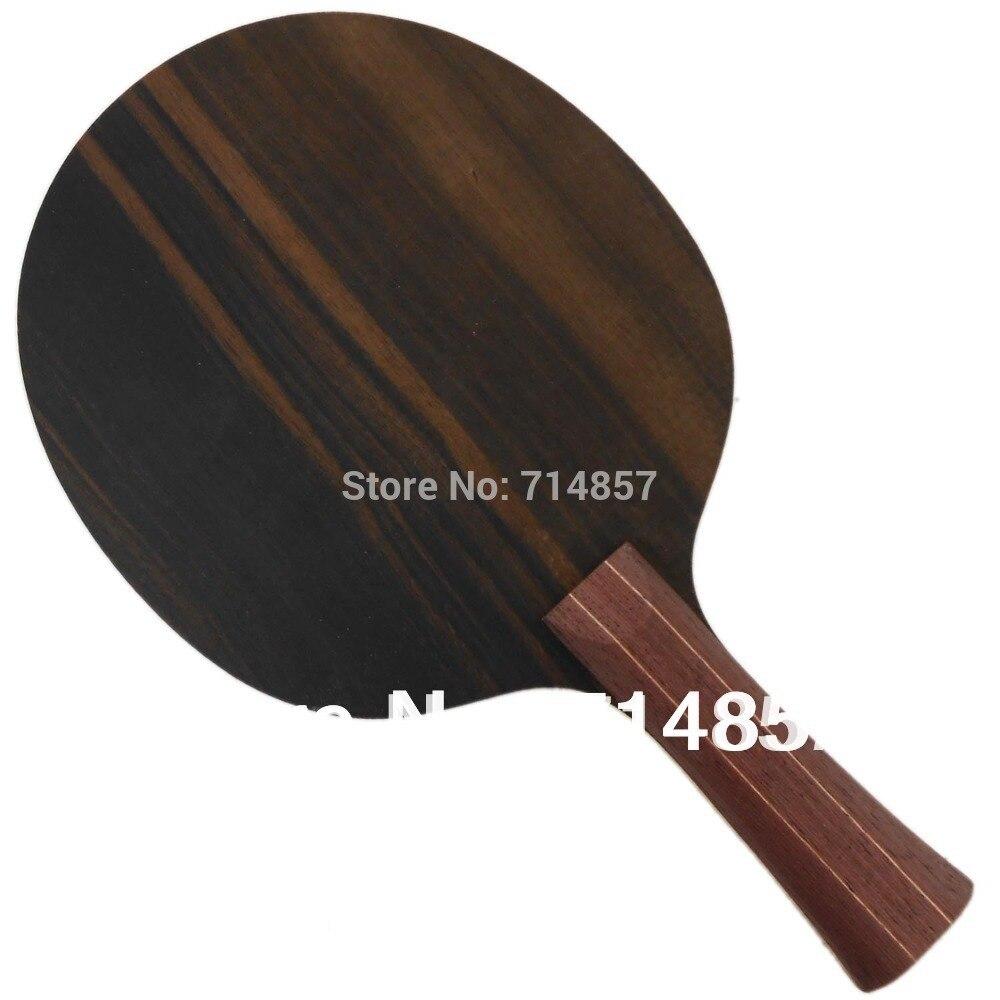 Ktl черное дерево 5 черный кофе дети профессиональная ракетка для настольного тенниса пинг-понг лезвие
