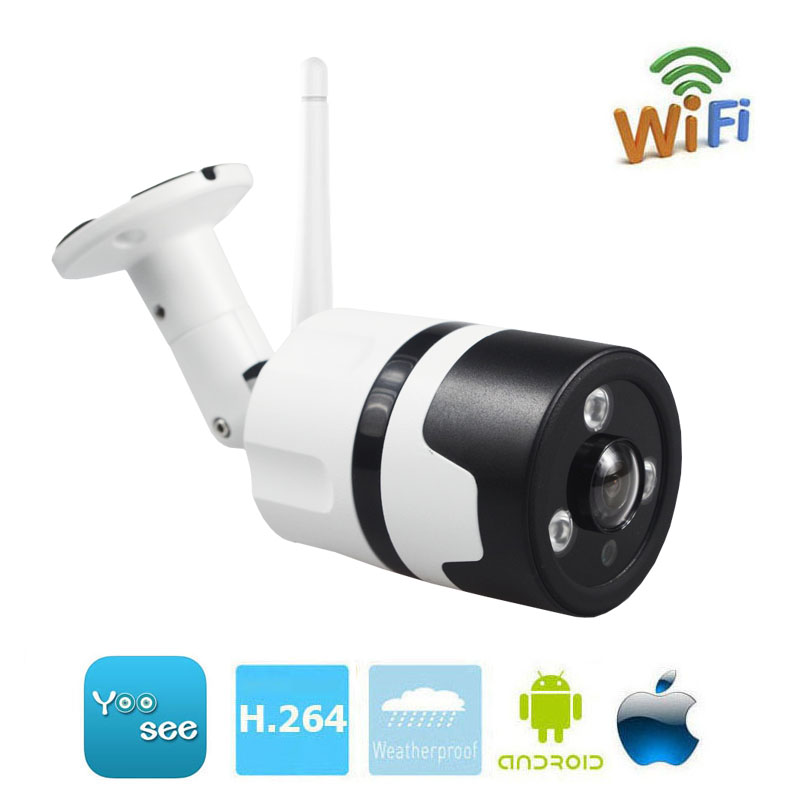Wifi 960P Outdoor Waterproof Panorama 360 Degree IP Camera IR Night Vision Two Way Audio Support 64G SD Card Yoosee APP прицел hawke panorama ev 3 9x50 10x half mil dot ir hk5161