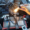 2017 Portátil Lápis de Teste de Tensão DC Voltímetro Circuito Detector de Alerta de Luz Led Elétrico Volt Tester 6-24 V Detecção Caneta de teste