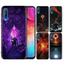 กรณีซิลิโคนสีดำสำหรับ Samsung Galaxy M10 M20 M30 S8 S9 S10 S10e 5G J3 J4 J5 j8 Plus 2018 S7 Edge Shell Bloodborne(China)