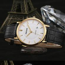 NEOS Calendar Fashion Men's Quartz Watch Fashion Watch Waterproof Ultra-thin Couple Watches Women's Watches
