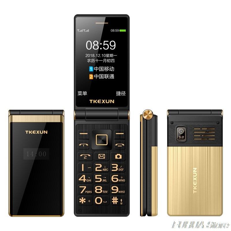 TKEXUN M2 PLUS 3.0 ''grande clé police écran tactile 3G WCDMA téléphone Mobile téléphone une clé cadran vieil homme Celulares PK G10 FM - 6
