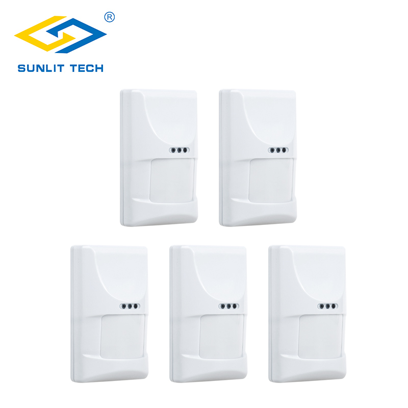 5pcs 433MHz Wireless PIR Detector Infrared Motion Sensor Alarm Pet Immune for WIFI/GSM PSTN Home Burglar Anti-thief Alarm System kerui wireless home alarm anti pet immune pir motion sensor infrared detector for gsm pstn wifi alarm system g18 g19 w2
