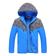 2016 new men's outdoor sports jacket mountaineering fishing hiking jacket luminous clothing headphone jacket coat lovers