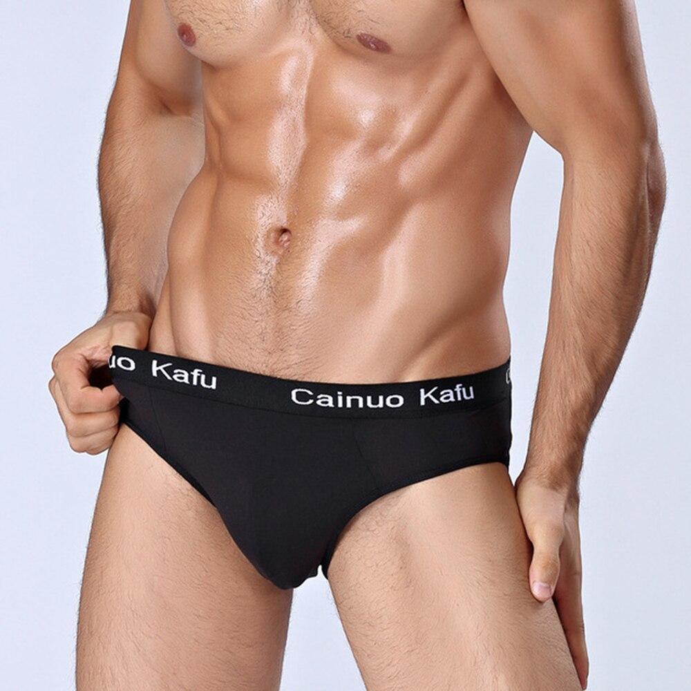 Mens Underwear Sexy Breathable Brief Underpants Modal Comfortable Briefs Shorts cueca masculina