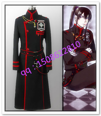 2016 Custom Made D. Gray-man Cosplay Yu Kanda Kostuum