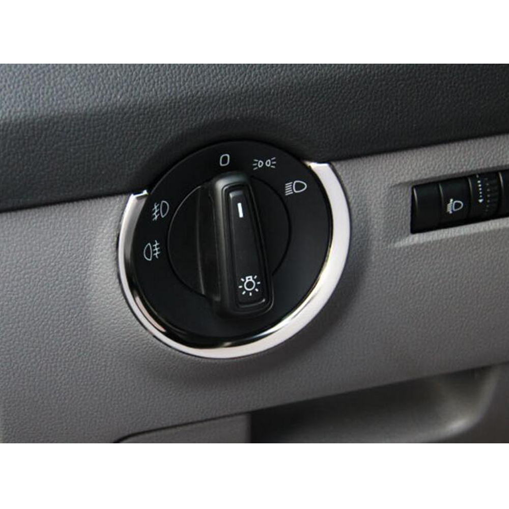 For VW Skoda Octavia a7 2015 1pcs headlight switch trim cover ...