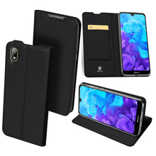 Phone Case For Honor 8s Original Dux Ducis Smooth Pu Leather Huawei Luxury Ultra-thin Flip Wallet Stand Cover
