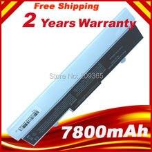 9 Cell 7800 mAh Laptop Akku für Asus Eee PC 1001 1005 1101 Netbook Weiß, freies Verschiffen
