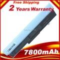 9 células 7800 mAh batería del ordenador portátil para Asus Eee PC 1001 1005 1101 Netbook blanco, envío gratis