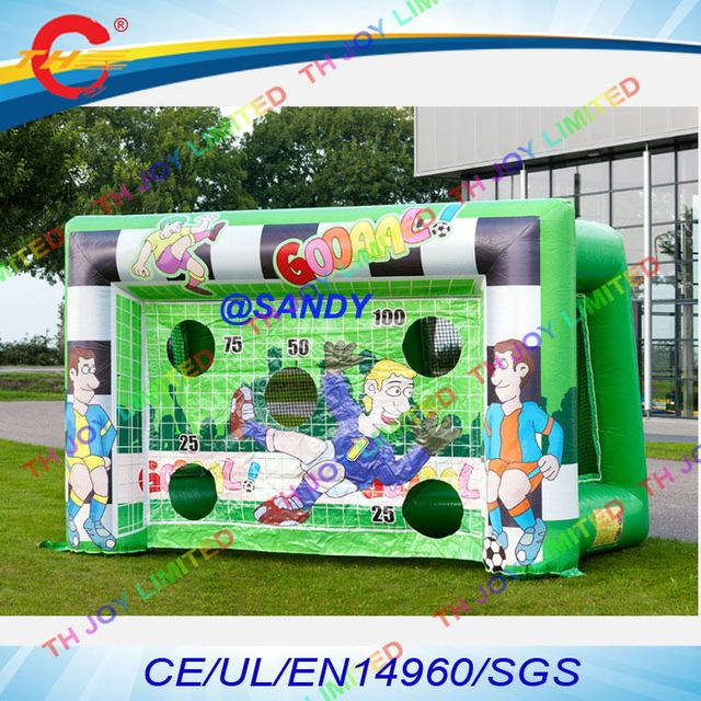 Free Air Ship To Door 4 2m Commercial Inflatable Soccer Goal