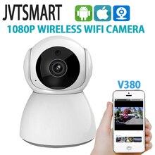 Jvtsmart 1080 p wifi ip 카메라 무선 홈 보안 ip 캠 감시 ptz 카메라 camara wifi cctv 카메라 v380 베이비 모니터