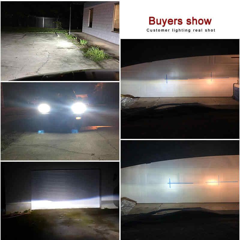 NAO h7 h4 led h1 h11 turbo led h13 led lamp h8 hb3 hb4 12V light for car h9 h27 881 880 9004 9006 9005 9007 6000K auto headlight