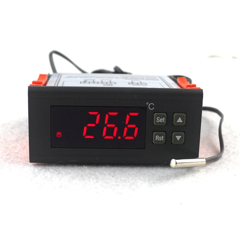 RC-113M AC 220V 2A PID Digital Thermostat Regulator Termostato Temperature Controller for Incubator Lab 互联网流量大数据工程
