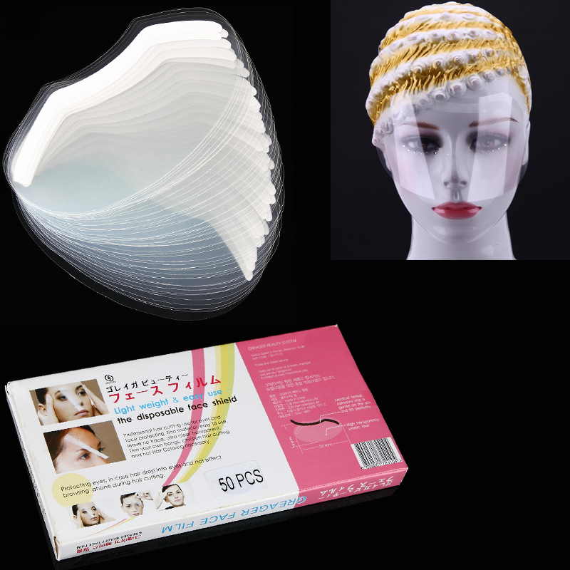 Hair Care & Styling Objective 50pcs Disposable Hair Salon Plastic Hairspray Mask Shield Eyes Face Protector Discounts Price Back To Search Resultsbeauty & Health